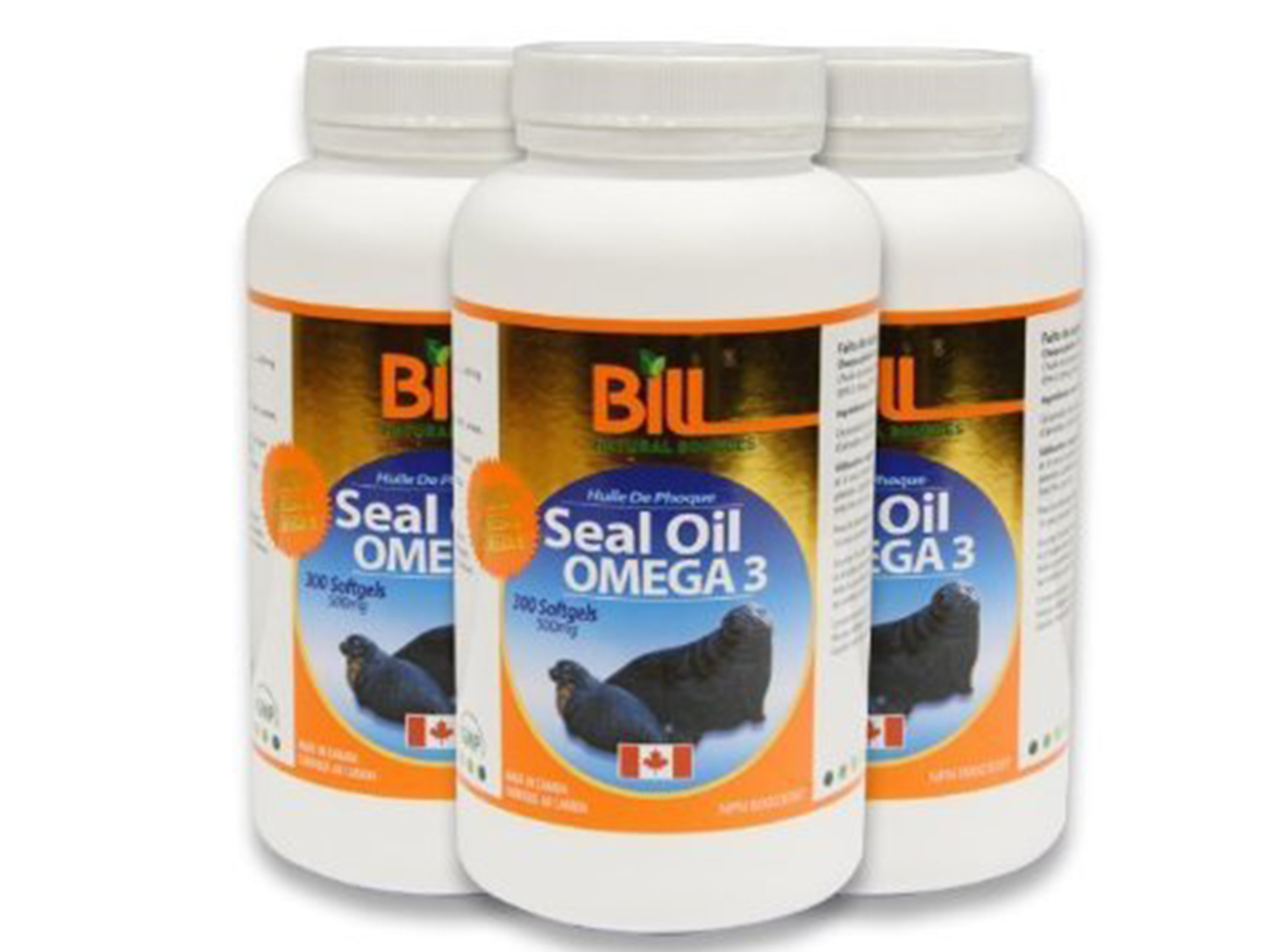 Seal Oil Supplements